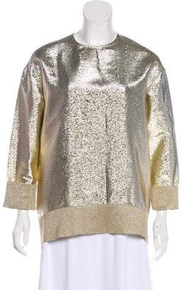Stella McCartney Gold Lamé Tunic