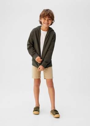 MANGO Pocket cotton sweatshirt