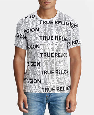 True Religion Mens Logo Graphic T-Shirt
