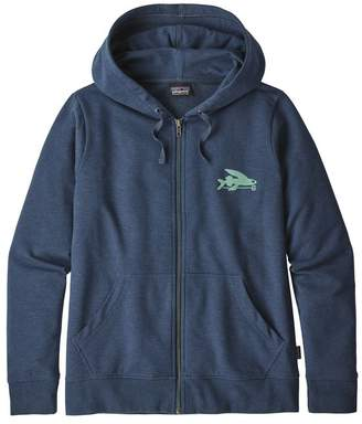 Patagonia Women's Small Flying Fish Ahnya Full-Zip Hoody
