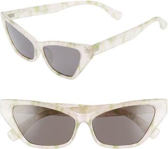 BP 56mm Cat Eye Sunglasses