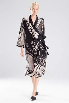 Josie Natori Art Nouveau Robe