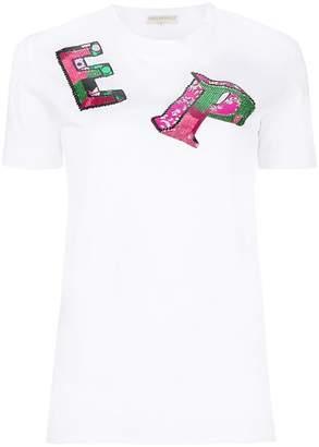 Emilio Pucci logo patch T-shirt