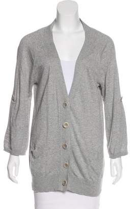 Vince V-Neck Button-Up Cardigan