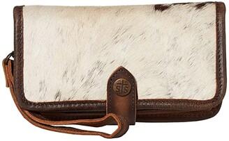 STS Ranchwear Cowhide Crossbody Wallet