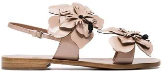 Miu Miu Sandals with flower detail