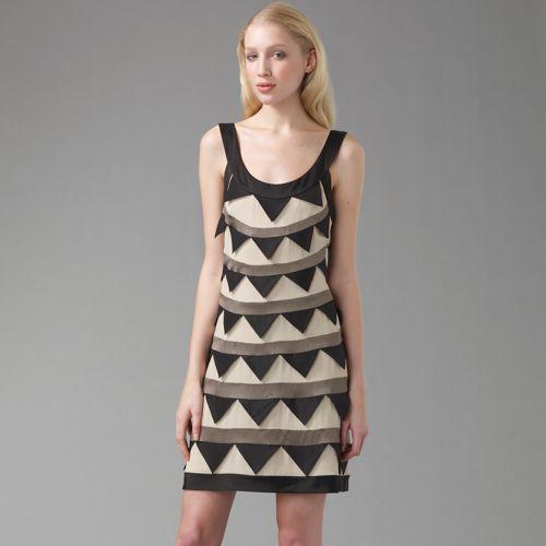 Temperley London Pandora Triangle Dress