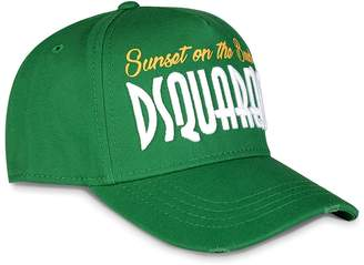 DSQUARED2 Dsquared 'Sunset on the Beach' Embroidered Baseball Cap