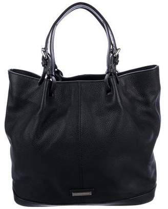 Giorgio Armani Grained Leather Tote
