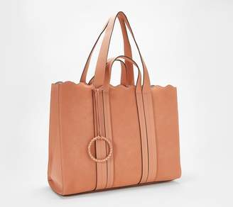 Vince Camuto Leather Large Tote Bag - Wavy