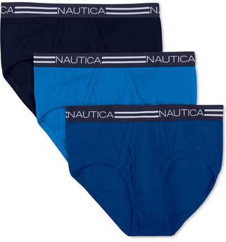Nautica Men's 3-Pk. Cotton Briefs