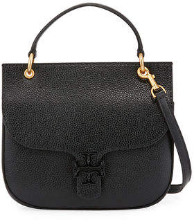 Tory Burch McGraw Leather Satchel Bag