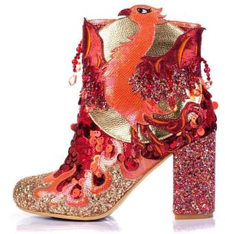 Irregular Choice Arise Glitter Boot