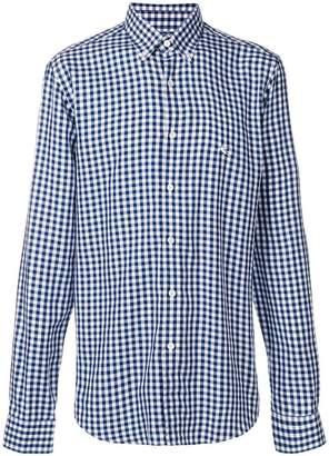 Etro button down check shirt