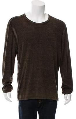 John Varvatos Cashmere and Silk-Blend Sweater