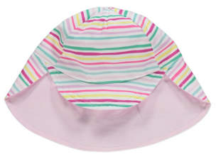 George Pink Striped Keppi Hat