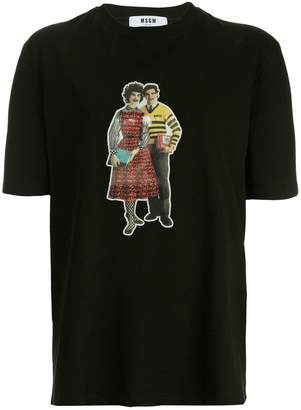 MSGM graphic print T-shirt
