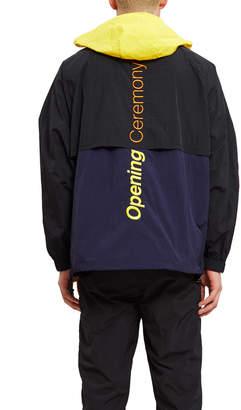 Opening Ceremony Crinkle Nylon Storm Jacket