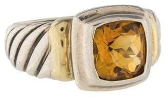 David Yurman Citrine Noblesse Ring