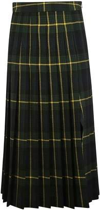 Moschino Pleated Check Dress