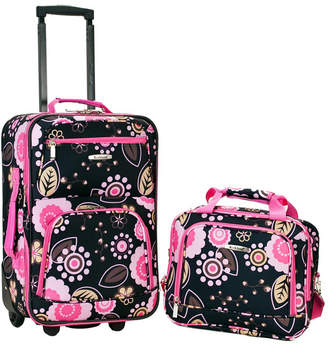 Rockland 2-Piece Pucci Luggage Set