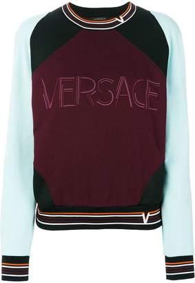 Versace Contrast Colour sweatshirt