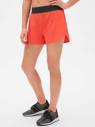 "Gap GapFit 3"" Running Shorts with Perforated Waistband"