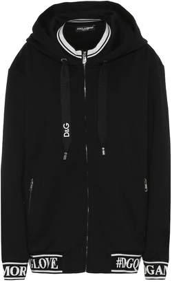 Dolce & Gabbana Logo cotton hoodie