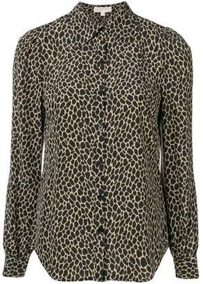 MICHAEL Michael Kors leopard print fitted shirt