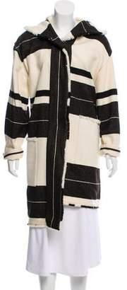 Isabel Marant Wool-Blend Blanket Coat w/ Tags