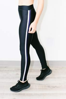 Atelier Fit Ultra Lux Collegiate Leggings Nero Navy Silver