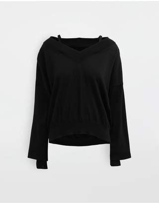 Maison Margiela Newbasic Jersey Knit Pullover