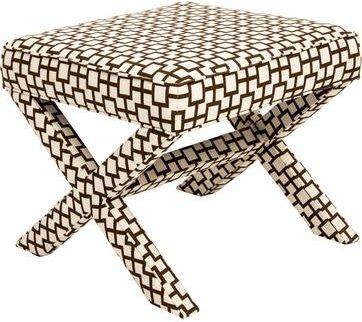 Jonathan Adler Geometric X-Form Stool