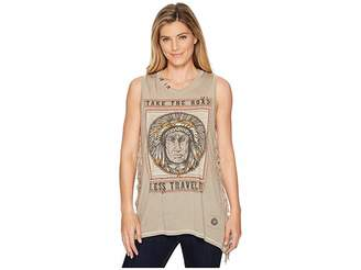 Double D Ranchwear Road Less Traveled Tank Top