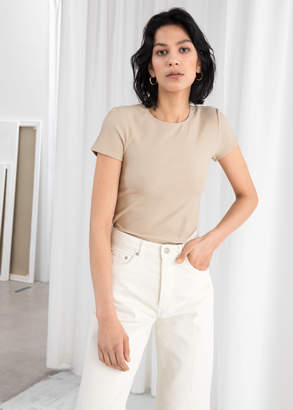 And other stories Stretch Cotton Top