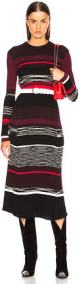 Proenza Schouler Space Dye Knit Midi Dress