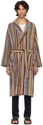Paul Smith Multicolor Multistripe Robe