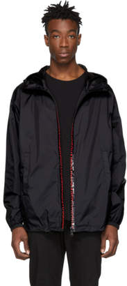 DSQUARED2 Black Logo Hooded Jacket