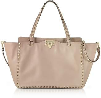 Valentino Rockstud Medium Leather Tote