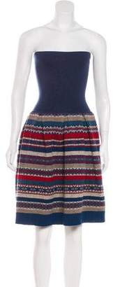 Marc by Marc Jacobs Wool Strapless Dress