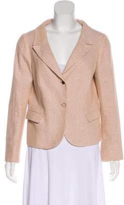 Valentino Metallic Woven Jacket