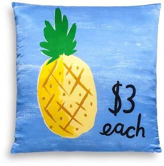"Kate Spade Pineapple Decorative Pillow, 20"" x 20"""