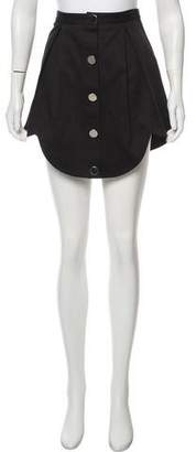 Tanya Taylor Scalloped Mini Skirt