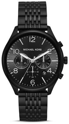 Michael Kors Merrick Black Chronograph, 42mm
