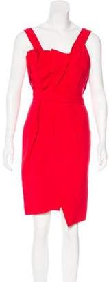 Fendi Silk & Wool-Blend Sheath Dress