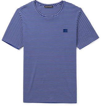 Acne Studios Nele Striped Cotton-Jersey T-Shirt