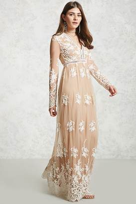 FOREVER 21+ Embroidered Maxi Dress $34.90 thestylecure.com