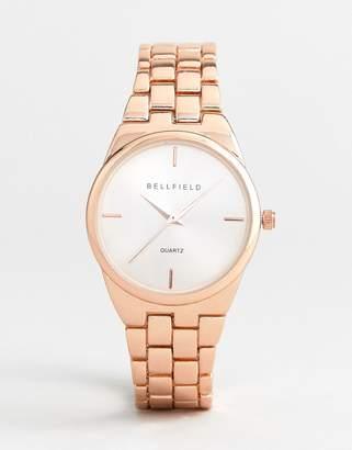 Bellfield Rose Gold Plated Watch