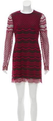 Philosophy di Lorenzo Serafini Embroidered Mini Dress