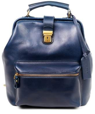 Old Trend Leather Convertible Doctor Backpack
